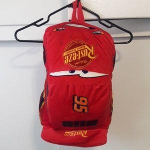Lightning McQueen Adorable Backpack